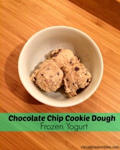 cookie dough froyo bowl scooped edit