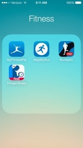 fitness screenshot