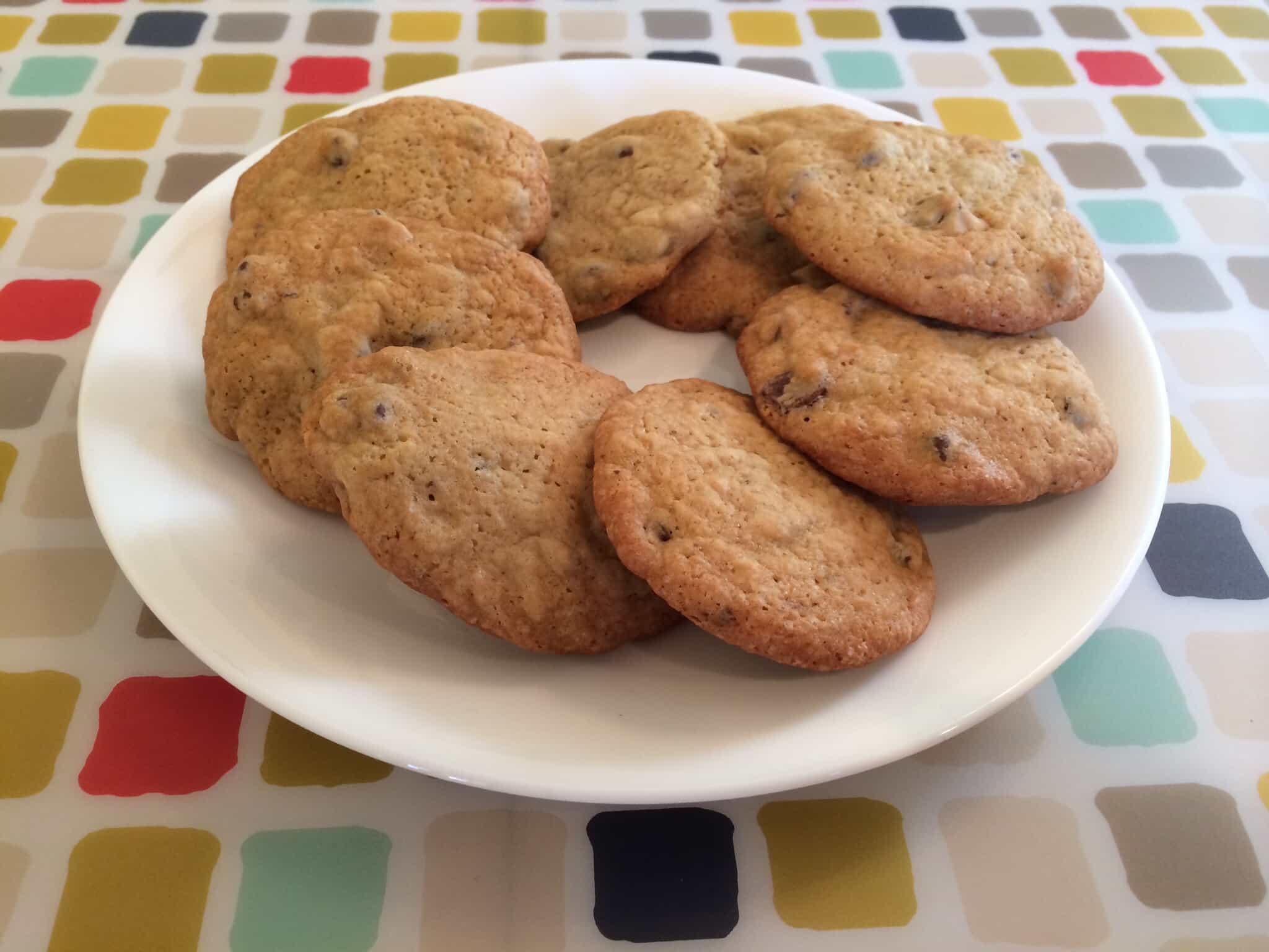 Healthier Greek Yogurt Chocolate Chip Cookies