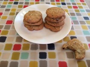 greek yogurt cookies plate 3