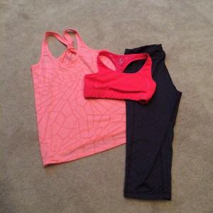 pink workout square