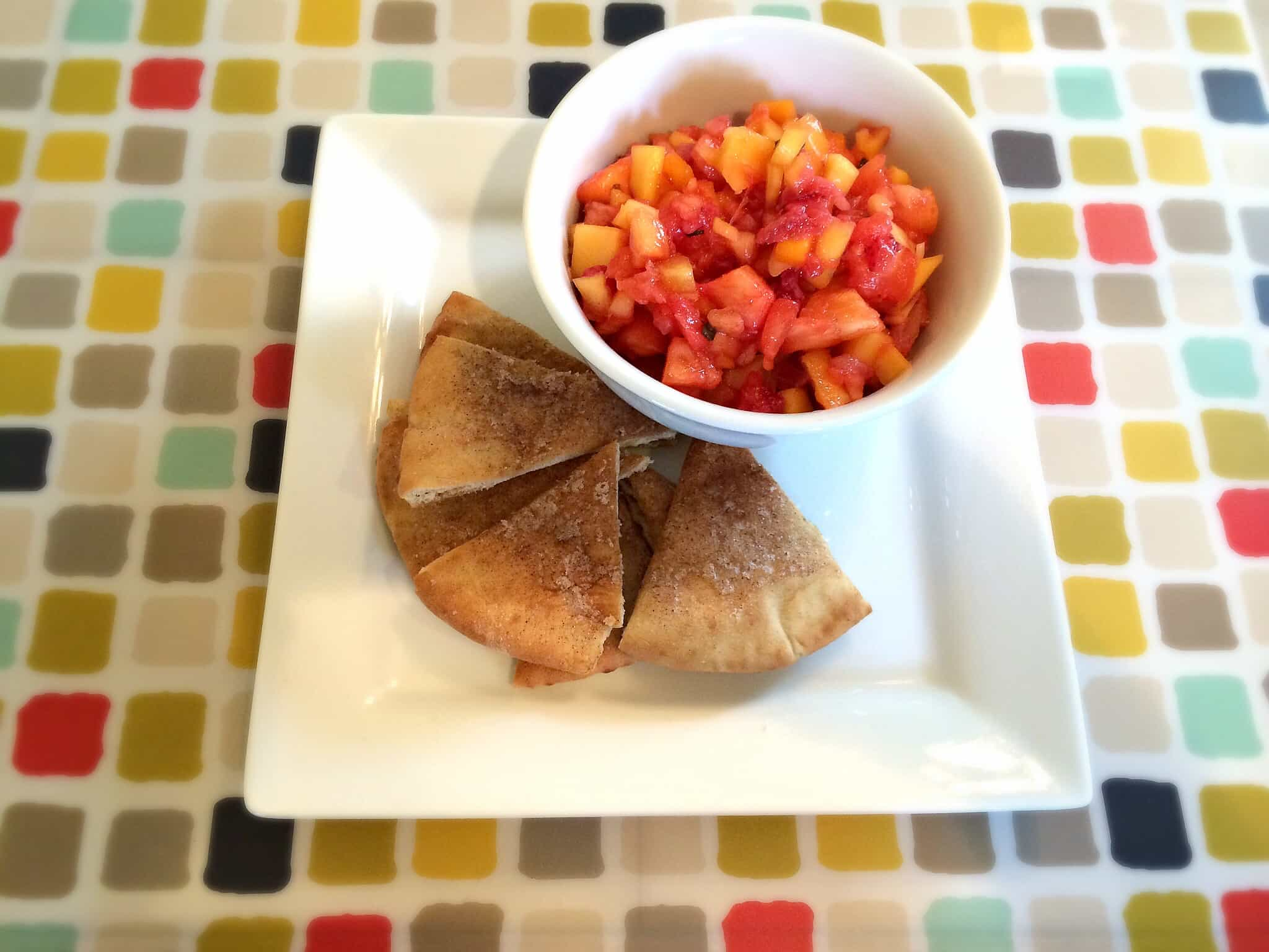 Homemade Fruit Bruschetta