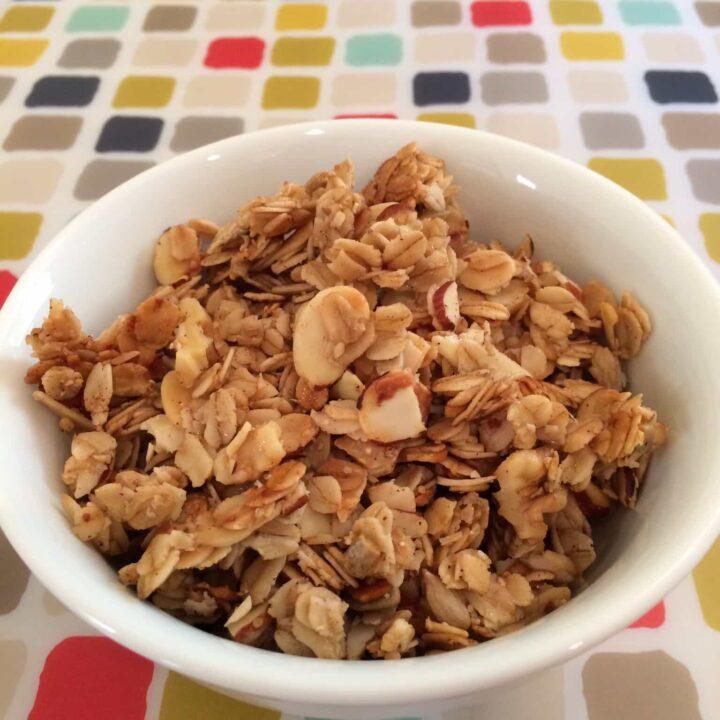 Honey and Maple Almond Granola