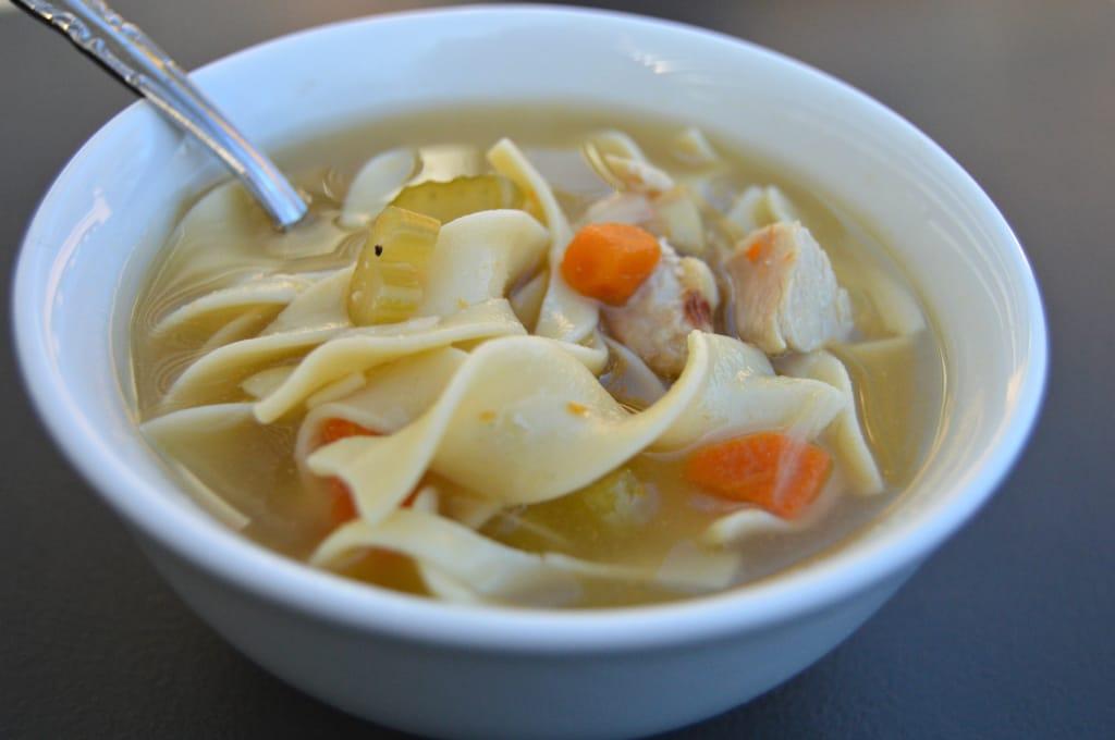 homemade chicken soup 7 edit