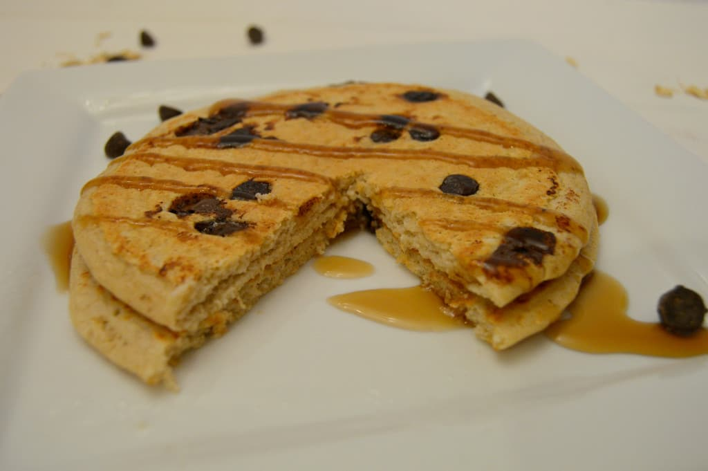chocolate chip pancakes 1