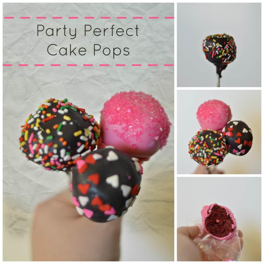 cake pops collage