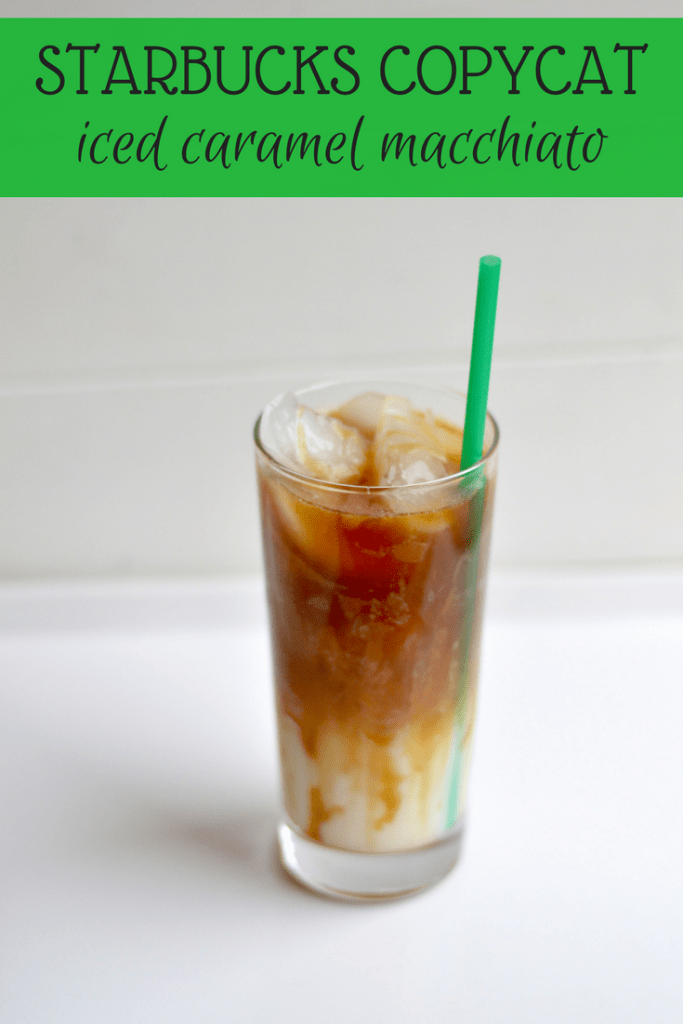 How To Make A Iced Machiatto At Home
