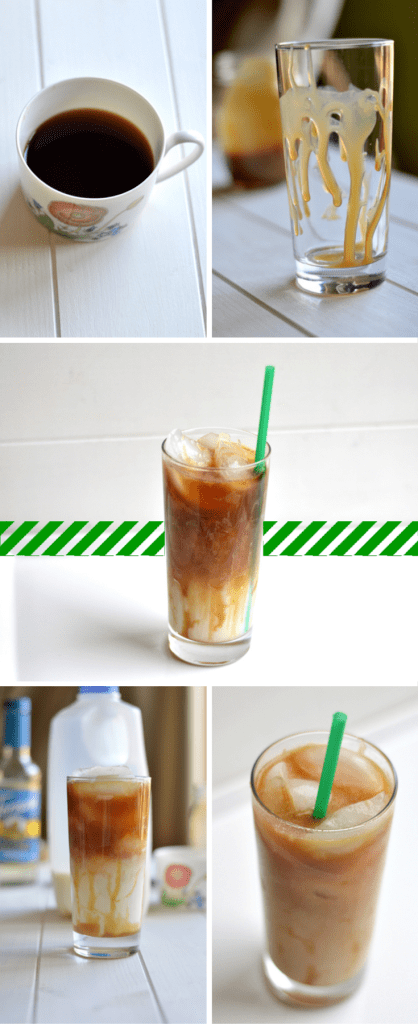 Do you like iced coffee beverages as much as I do but hate paying almost $5 every time you want a fancy iced espresso drink at Starbucks? I thought so. Here's how you can save so much $$ by making your own coffeehouse drinks at home!