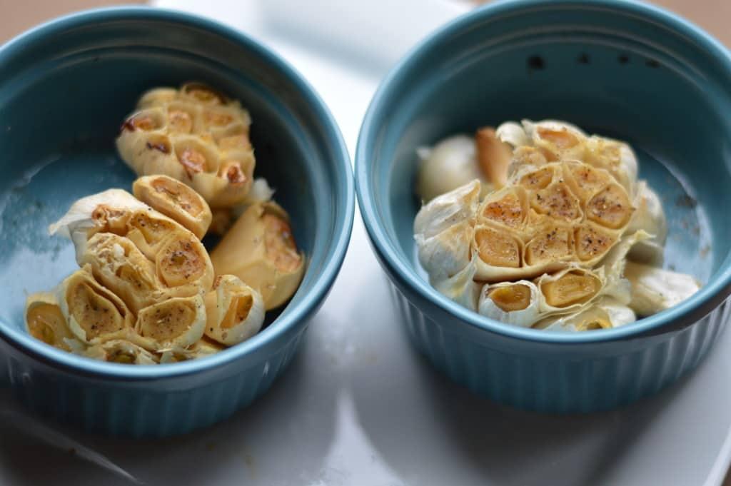 easiest roasted garlic