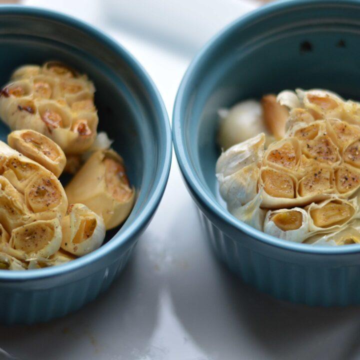 Simple Roasted Garlic