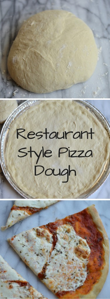 Don't be intimidated by making your own pizza dough, it's quite simple once you get the hang of it! This dough is perfect for a DIY pizza night at home. Everyone gets to pick their favorite toppings!