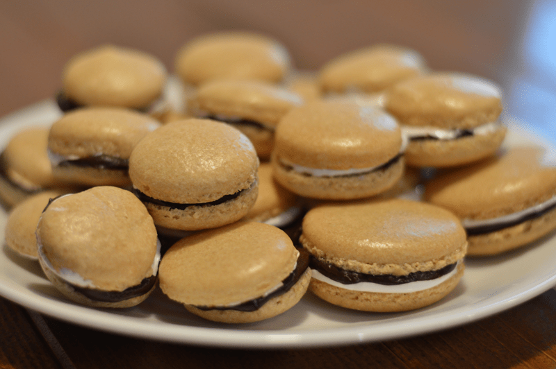 The crisp exterior and chewy interior is something unlike anything you'll ever taste. If you've never had macarons, you should definitely try making these!
