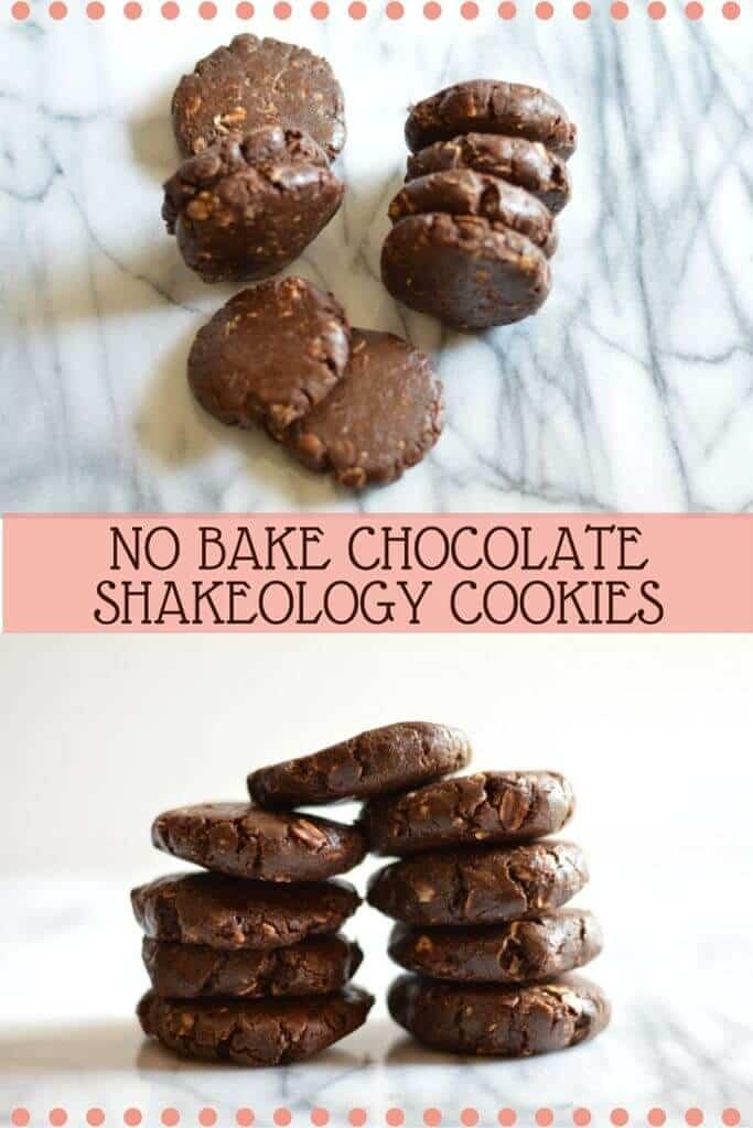 no bake chocolate shakeology cookies