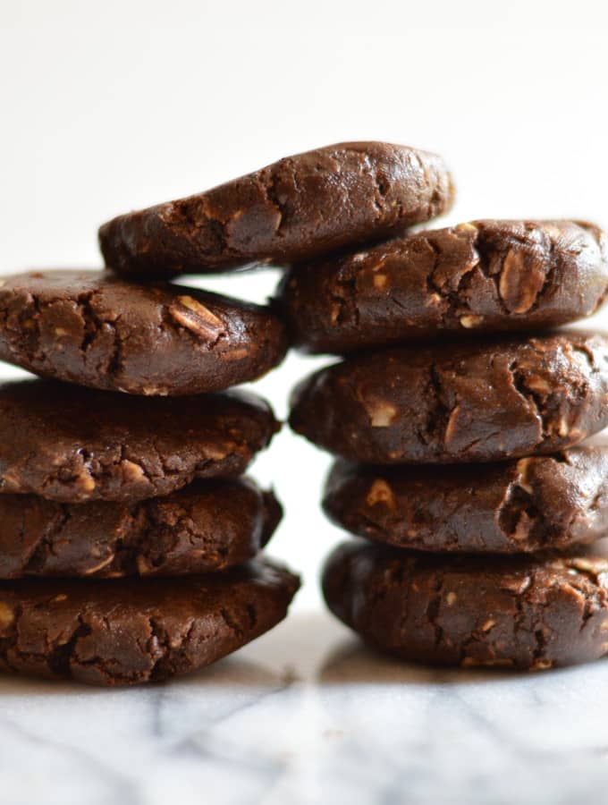 No Bake Chocolate Shakeology Cookies