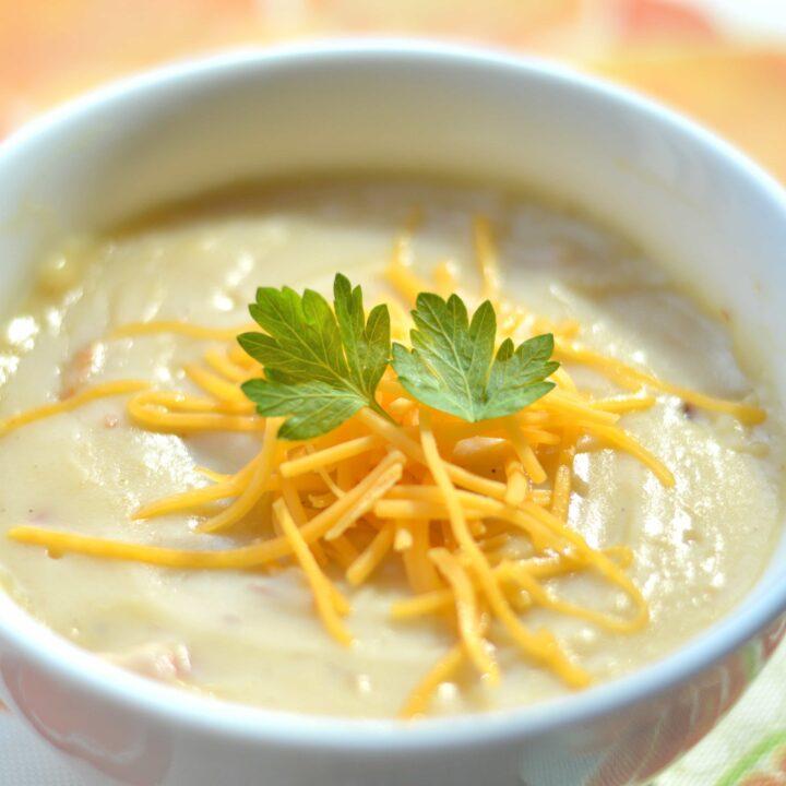 Creamy Loaded Potato Soup