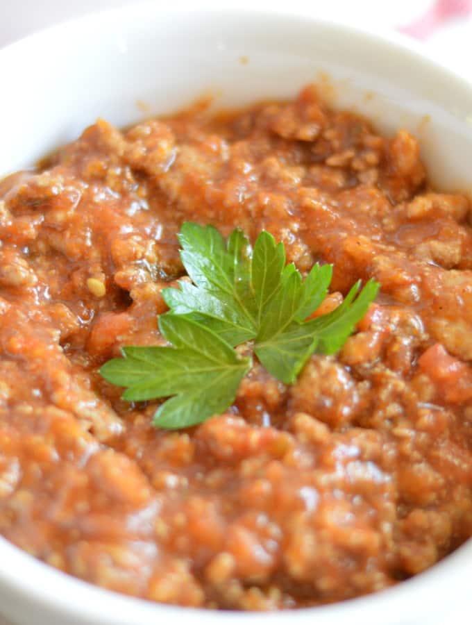 Warm and Hearty No Bean Turkey Chili
