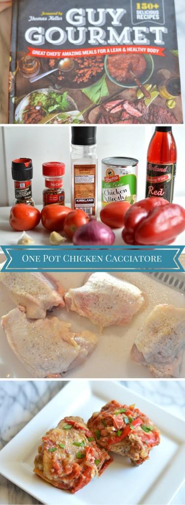One Pot Chicken Cacciatore