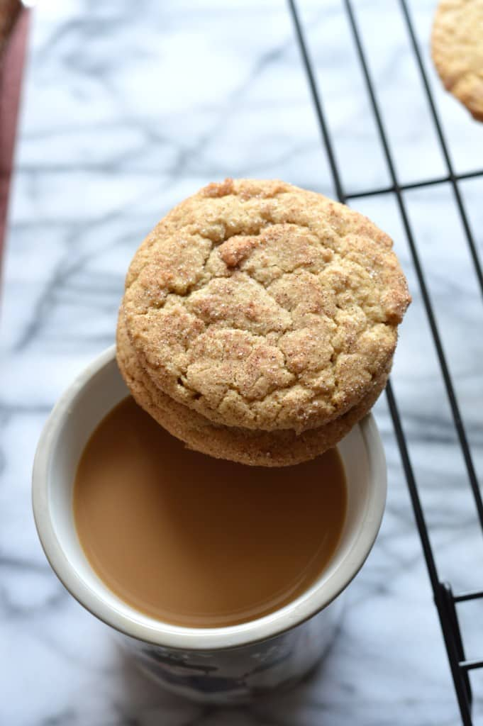 snickerdoodle and coffee