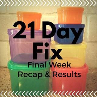 21 day fix
