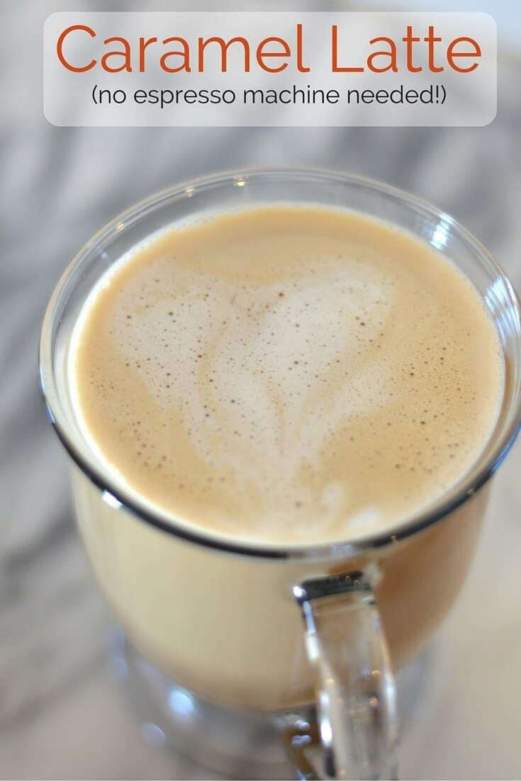 No-Espresso-Machine Caramel Latte