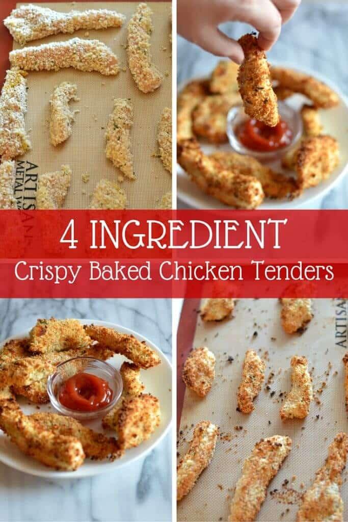 Crispy Baked Chicken Tenders