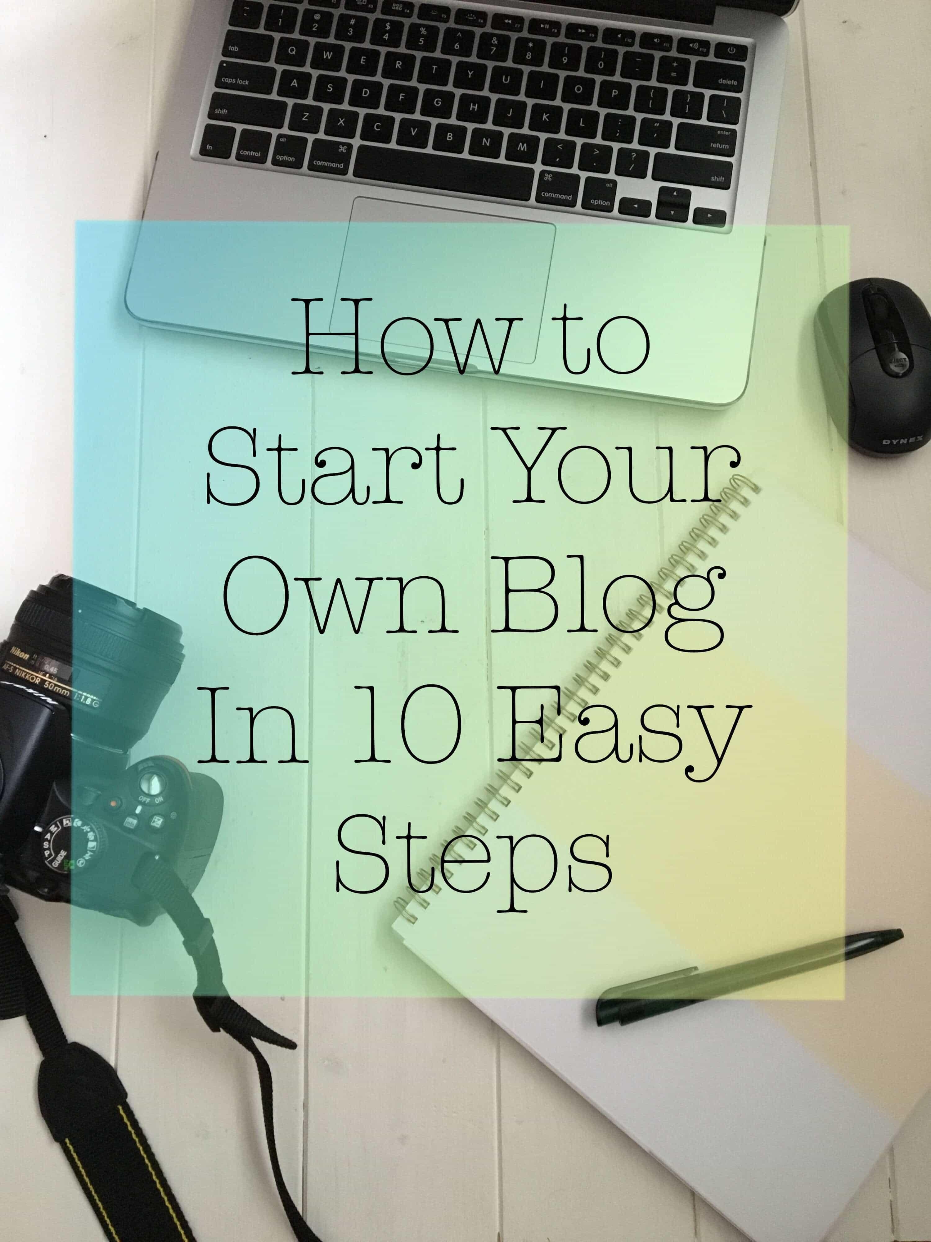 start your own blog