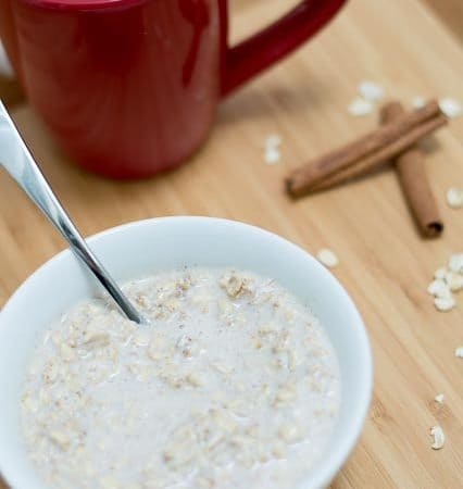 snickerdoodle overnight oats