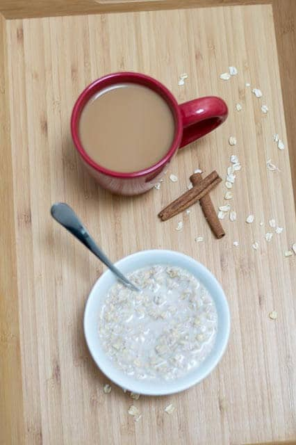 snickerdoodle oats overnight