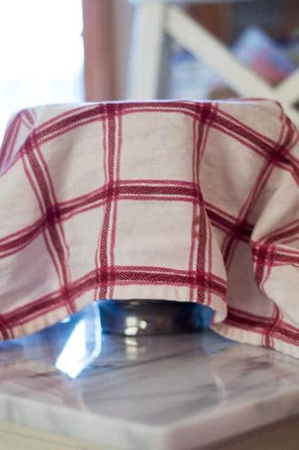 crispy french bread towel