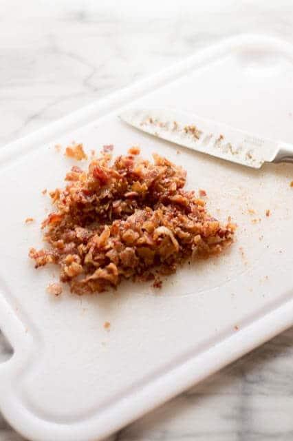 crispy breakfast egg roll bacon