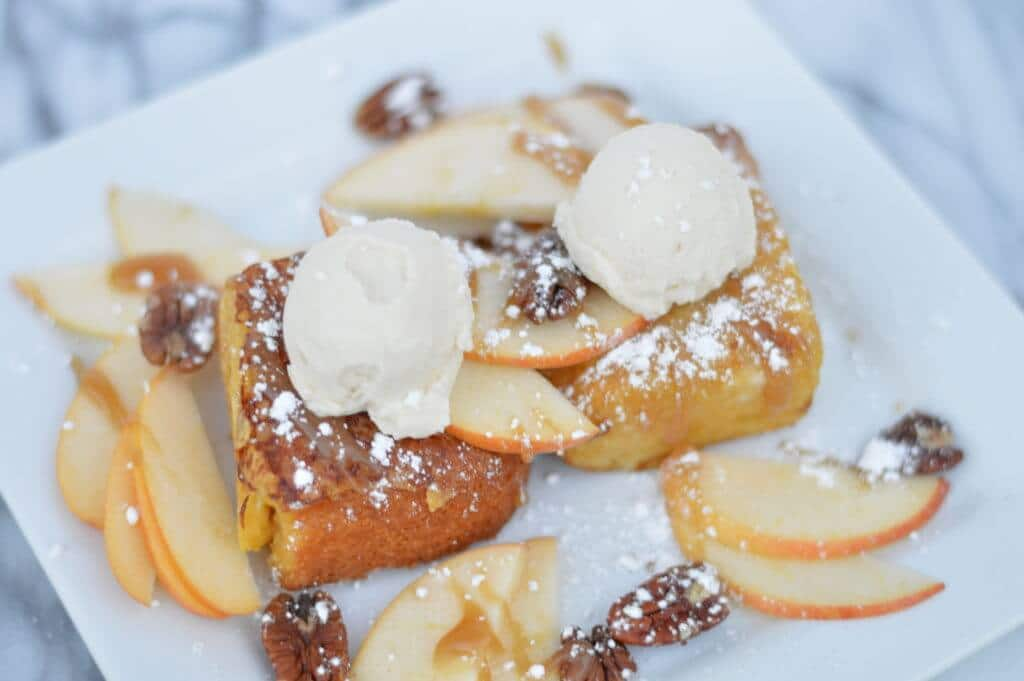cornbread french toast