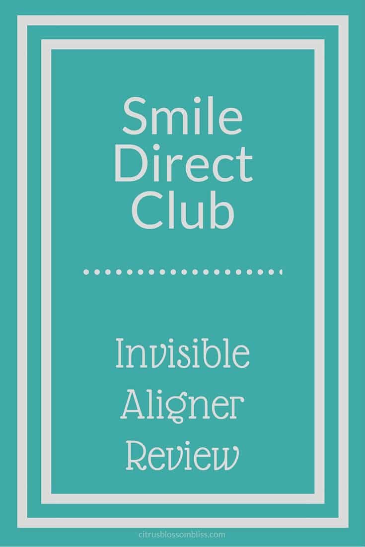 SmileDirectClub Invisible Aligner Review