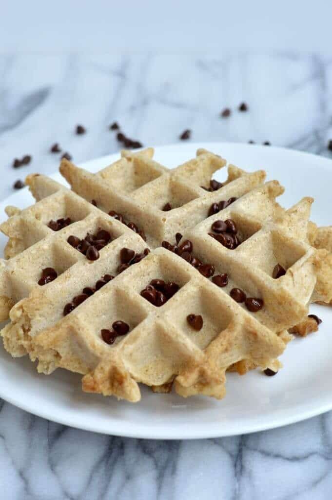 protein waffle vert