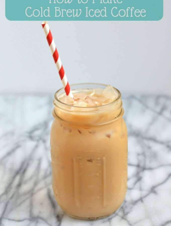 How to Make Cold Brew Iced Coffee & A VIDEO