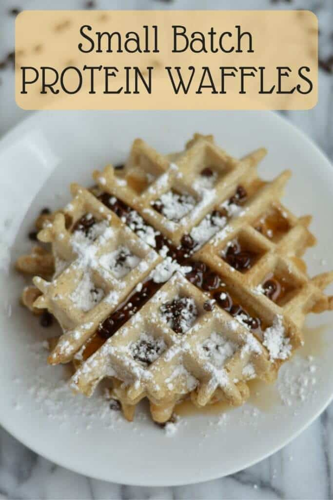 Small Batch Protein Waffles (1)