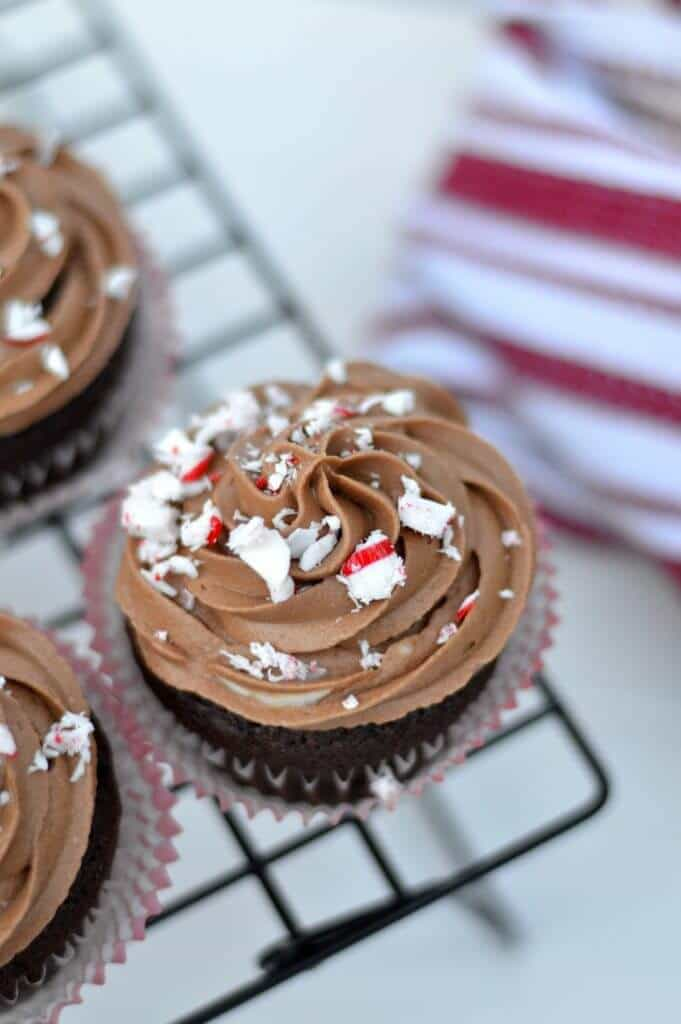 This chocolate mocha cupcake is made from scratch, from cake to frosting. The cake part is a simple chocolate cake batter.