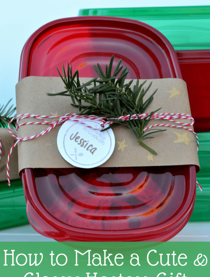 How to Make a Classy Hostess Gift