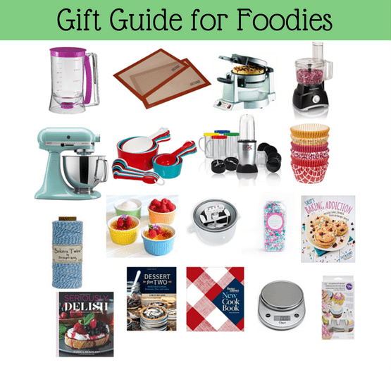 The best gift guide for the foodie in your life!