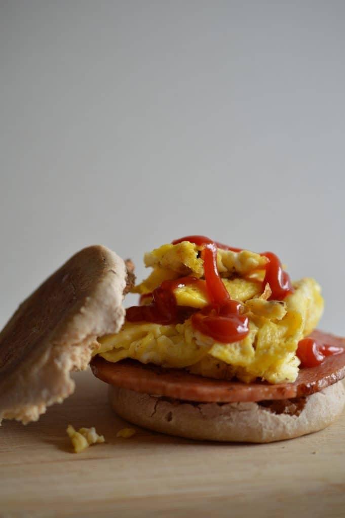A classic New Jersey breakfast sandwich.