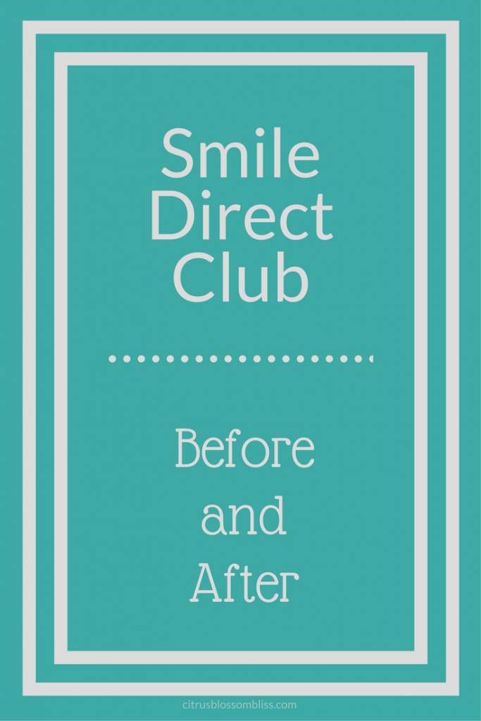 Glad This Image Wasnt Final Impression >> Smile Direct Club Before And After 1 Year Later Citrus Delicious