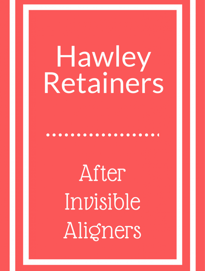 Hawley Retainers after Invisible Aligners graphic