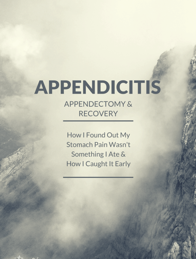Appendicitis, Appendectomy and Recovery