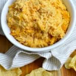 Slow Cooker Buffalo Chicken Dip - made entirely in the slow cooker!