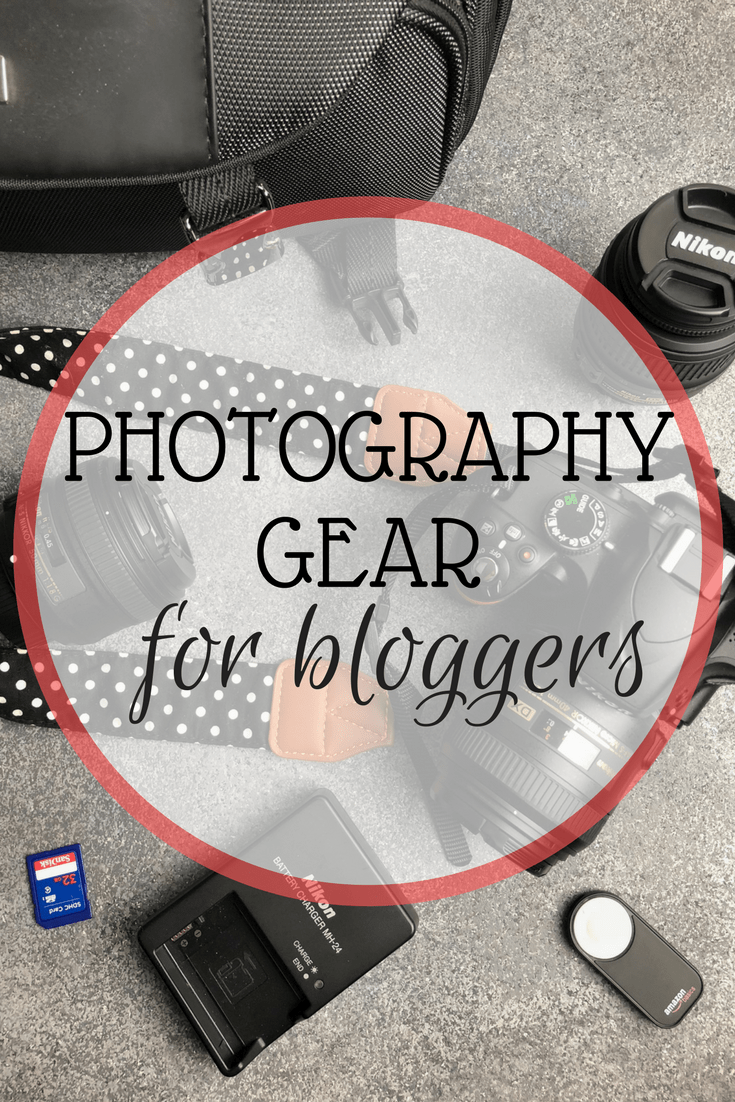If you're a blogger, you know sometimes your post is only as good as your best photos. This post has some of my favorite items I use for photography and blogging.