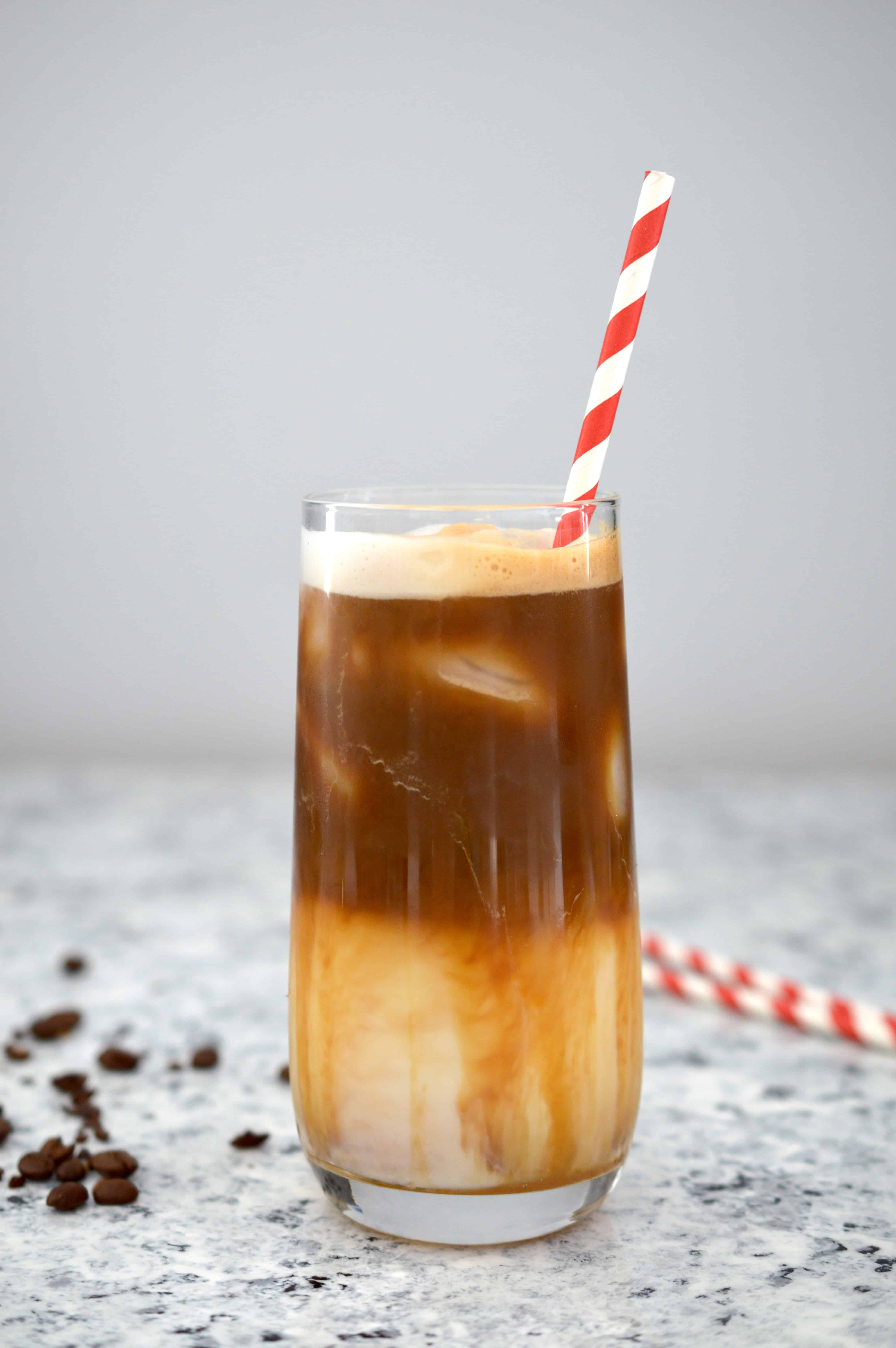 Starbucks Copycat Iced Caramel Macchiato Citrus Delicious