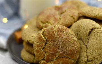 Pillowy soft Caramel Snickerdoodles