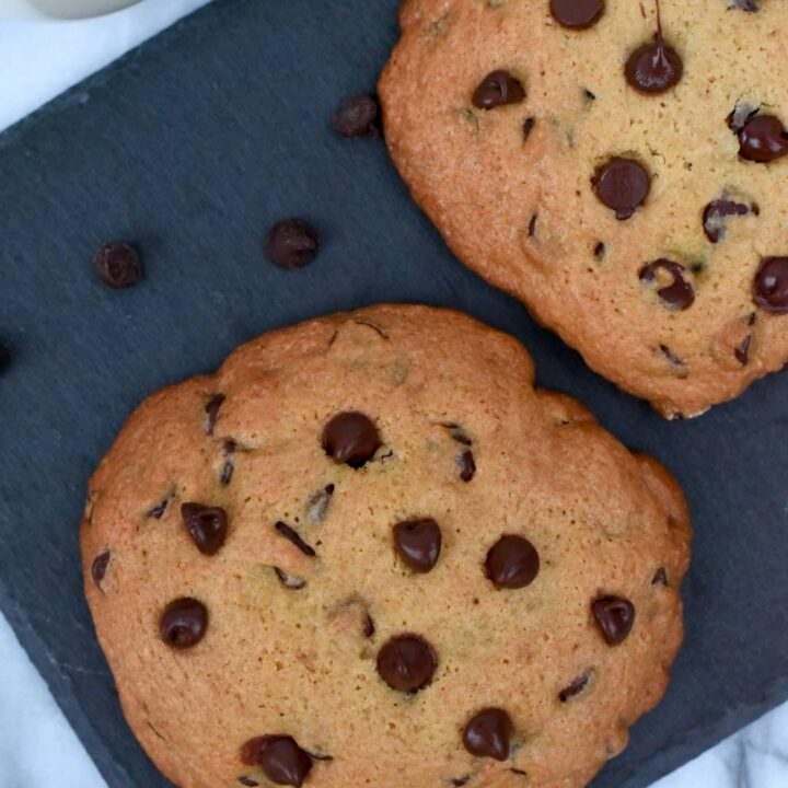 Two Big Soft Chocolate Chip Cookies